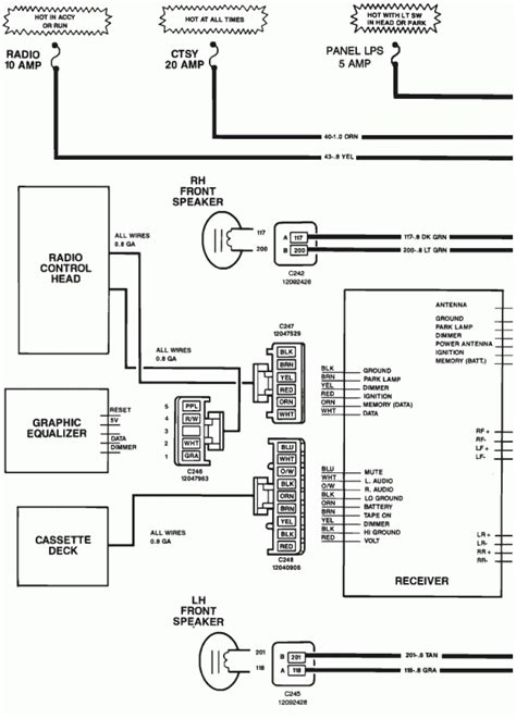 1993 chevy s10 stereo wiring diagram diagrams and on truck