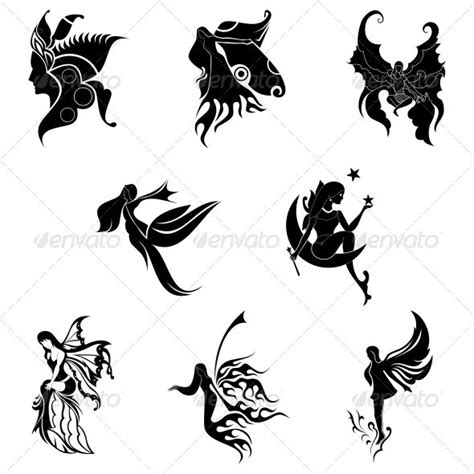 Tattoo Angel Vector | 17 best images about angels on pinterest tribal flower