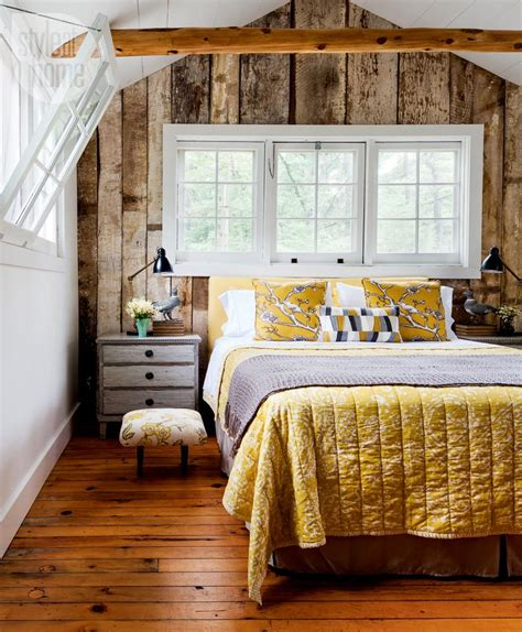 bright dash of wall color in an eclectic living room house tour bright eclectic cottage style at home