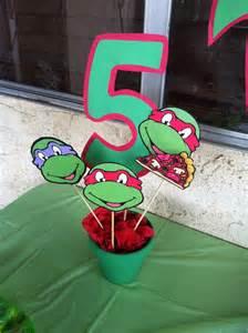 ninja turtles birthday decorations jovan pinterest