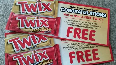 Coupon Clipinista Instant Win List - twix instant win game 100 000 win full size twix bars and 400 000 more winners i won