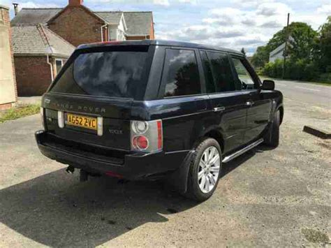 range rover vogue 3 0 diesel range rover vogue 3 0 diesel automatic 2003 car for sale
