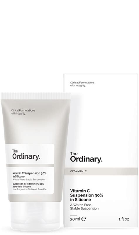 The Ordinary Matrixyl Size Ready the ordinary vitamin c suspension 30 in silicone 30ml