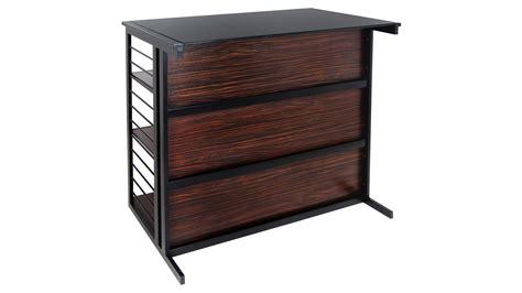 Zebra Bar Stools Modern Family by Modern Franco Bar Espresso Zebra Black Zuri Furniture