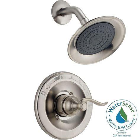 shop delta 4 piece windemere delta windemere 1 handle shower only faucet trim kit in