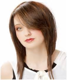 hair shorter in back than front bob haircuts long in front short in back short hairstyle