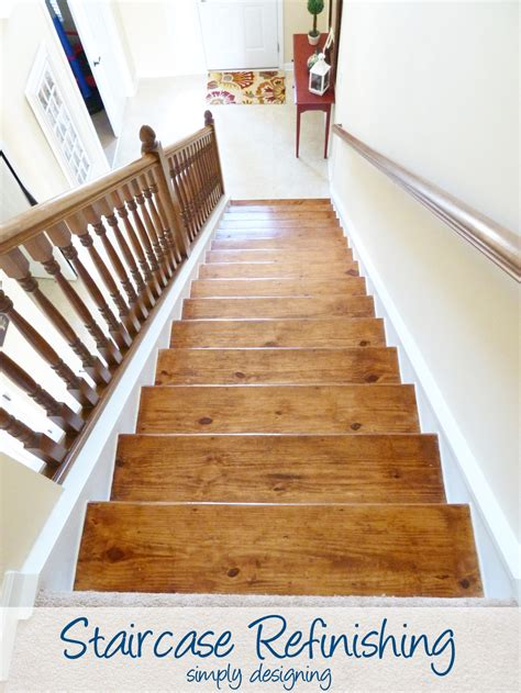 how to refinish stair banister staircase make over part 6 the finishing touches