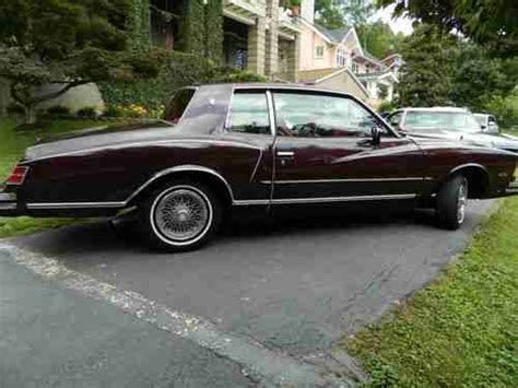 sell used 1979 chevrolet monte carlo base coupe 2 door 4
