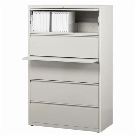 5 Drawer Lateral File Cabinet 5 Drawer Lateral File Cabinet In Gray 15005