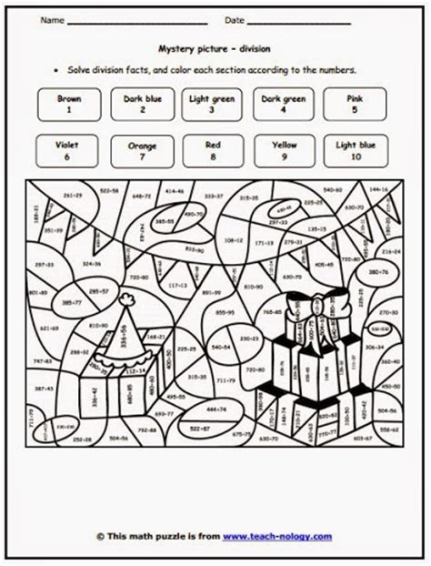 Coloring Page Grade 3 by Division Coloring Worksheets Grade 3 Division Coloring