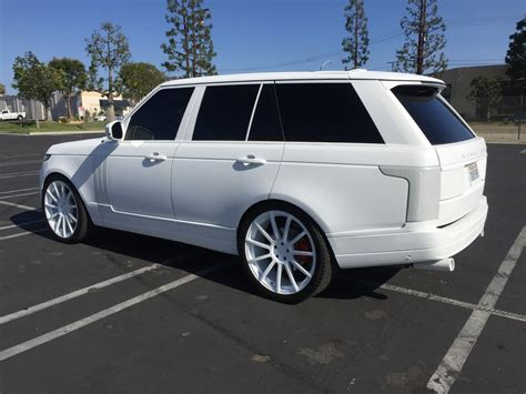 white wrapped range rover jenner s 2014 range rover wrapped in matte white yelp