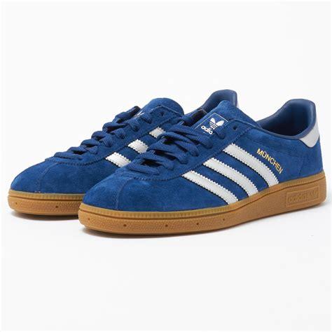 Adidas Munchen Blue Original lyst adidas originals munchen in blue for