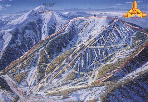 vidéo de skizi ski apache trail map onthesnow