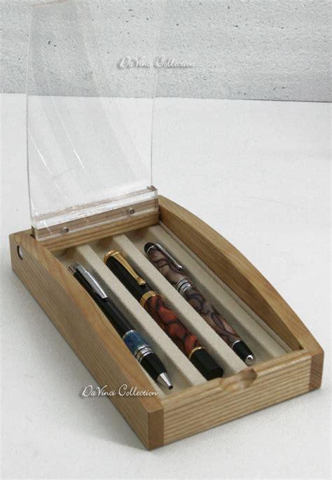 acquario da scrivania trendy portapenne da scrivania cofanetto in legno pbpfe