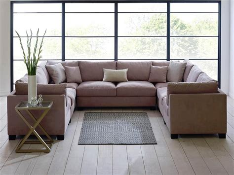 u shaped sectional with chaise u shaped sectional double chaise the ultimate u shaped
