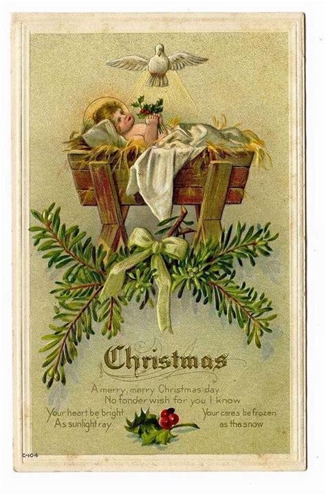 catholic on pinterest 219 pins christmas vintage holy card vintage catholic holy cards