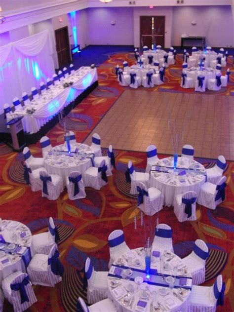 Blue And White Wedding Reception Decorations by 1000 Ideas About Blue Wedding Decorations On