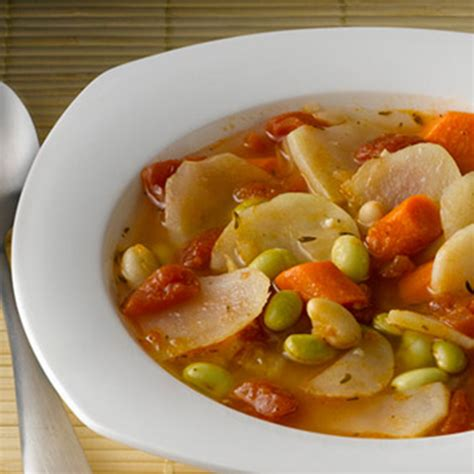 vegetable soup with potatoes recipe chunky potato vegetable soup bigoven