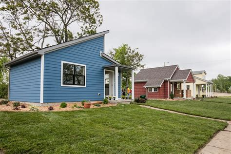 mini houses a tiny home community rises in detroit curbed detroit