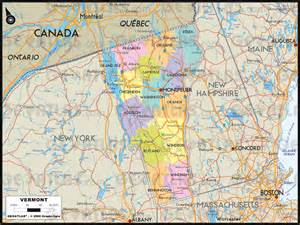 vermont canada map geoatlas united states and canada vermont map city