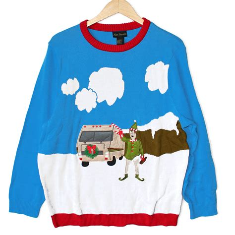 the christmas sweater trailer gray cardigan sweater