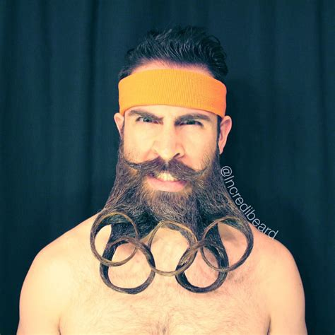 Beard Design Ideas by This S Beard Is The Beard To Rule All Beards You Won T Believe What He Can Do With It