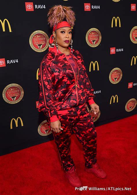rapper da brat attends   bounce trumpet awards held
