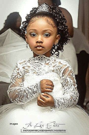 Wedding Hairstyles. Inspirational Little Black Girl