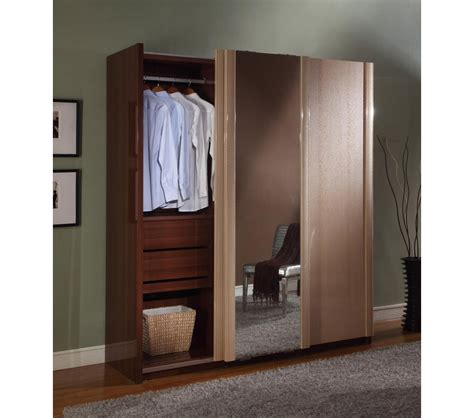 Armoire With Sliding Doors by Dreamfurniture Liza 3 Sliding Doors Armoire