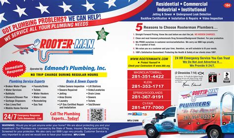 rooter plumbers in tomball tx 281 351 4