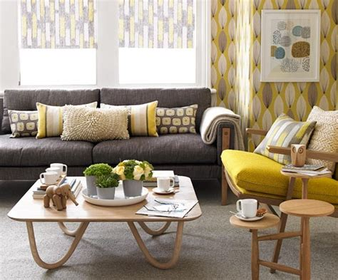 grey yellow green living room college apartment decorating tips ramshackle glam