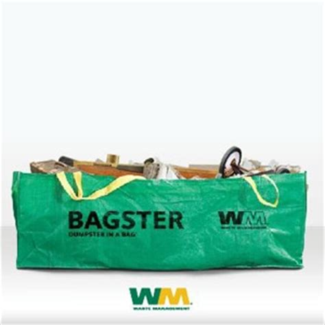 Waste Management Bagster Dumpster In A Bag Morristown