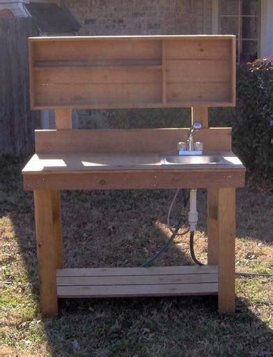 potting bench with sink new 6ft big all cedar potting bench gardening benches