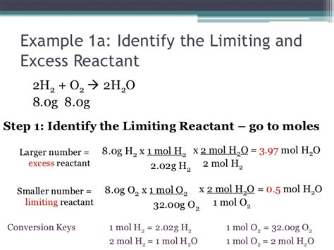 Limiting And Excess Reactants Worksheet Answers by Chemistry I Honors Stoichiometry Limiting Reactant
