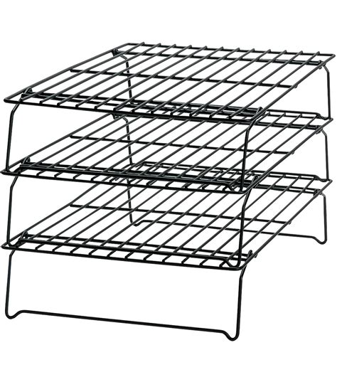 3 Tier Cooling Rack by Wilton Excelle Elite 3 Tier Non Stick Cooling Rack Jo