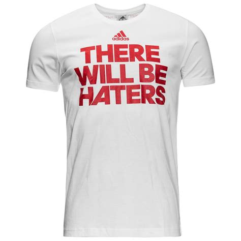 haters white shirt adidas t shirt there will be haters white www