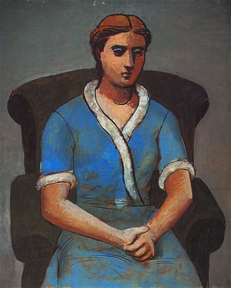 picasso woman in an armchair pablo picasso woman in an armchair olga 1922