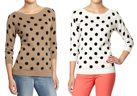 Oz Sweater Polka Abu this is my so called style cheap thrill polka dot sweater from navy