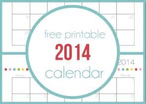 Free printable calendar for 2014 on iheartnaptime com