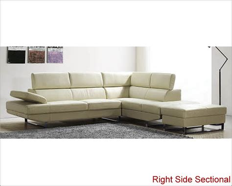 off white sectional modern sectional sofa set in off white finish 33ls21