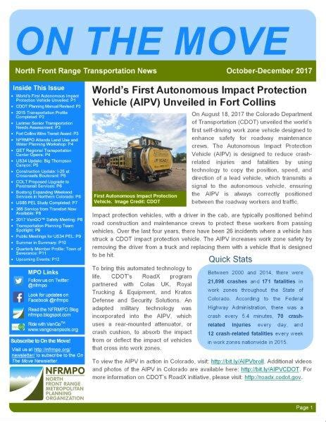 maps gis nfrmpo newsletter nfrmpo