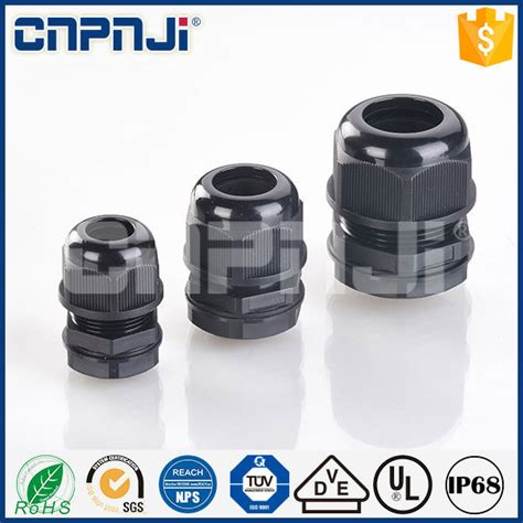 selling black electrical cable gland m with low price