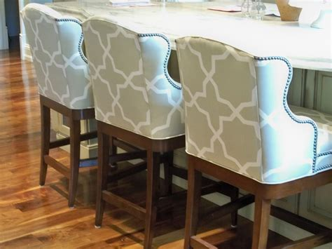 Tufted Bar Stool by Fabric Tufted Bar Stools Inspire Furniture Ideas