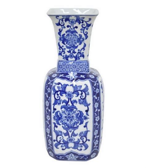 Three Corp Vase by Three Corp 27561 Inventive Ceramic Vase Blue