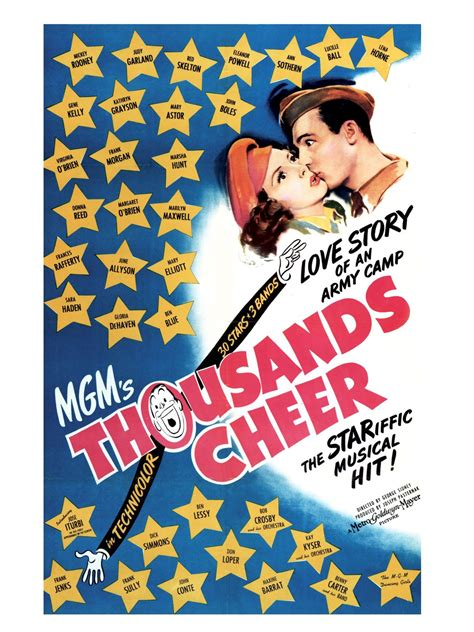 watch thousands cheer 1943 full movie official trailer thousands cheer cast and crew tvguide com