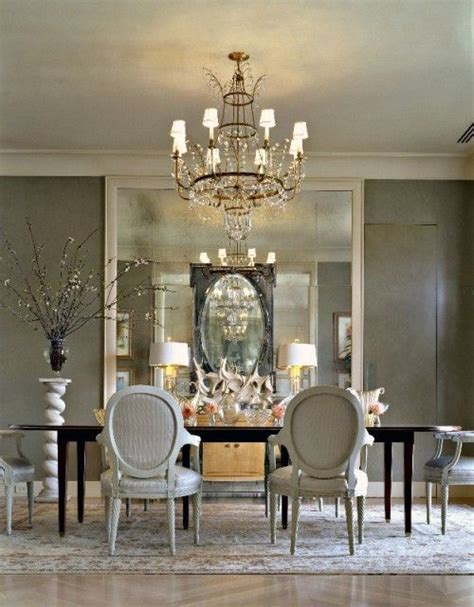 silver white dining room beautiful dining