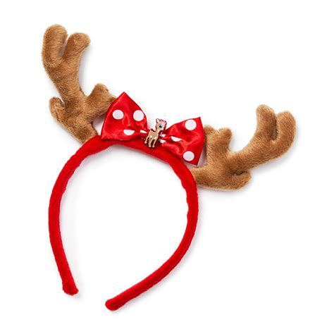 how to get raindear anters white rudolph the nosed reindeer clarice antlers headband get a look with this
