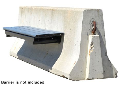 no bench no post jersey concrete barrier bench wishbone site