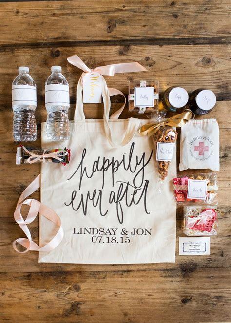 diy wedding welcome gift bags wedding wednesday what we put in our wedding welcome bags gift weddings and wedding