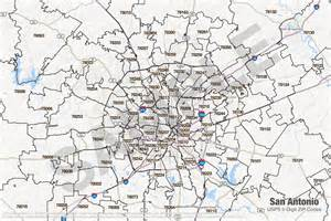 Bexar County Zip Code Map by Bexar County Map San Antonio Submited Images